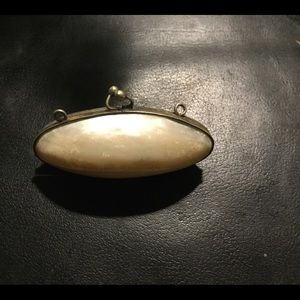 Victorian Mother of Pearl Tiny Purse